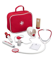 wooden Doctor on call Kit hape