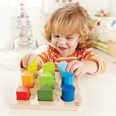 kidz-stuff-online - Colour and Shape Sorter Hape