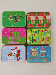 Holiday Tin Boxes