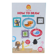 kidz-stuff-online - Tiger Tribe Piccolo How to Draw Set - Animals
