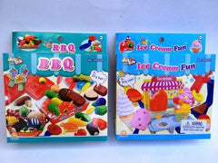 Ice Cream and BBQ Play Doh Set