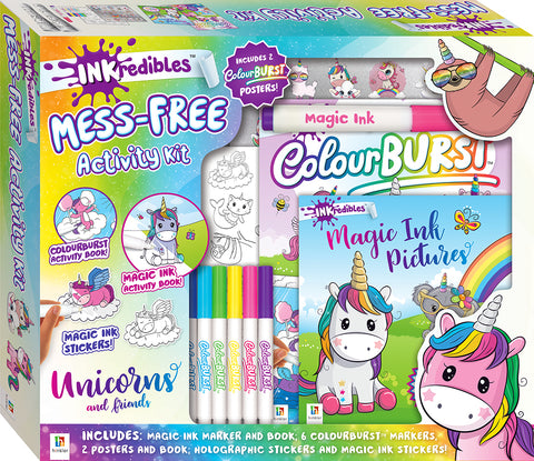 Unicorn and Friends Inkredibles Invisible Ink