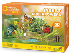 3d puzzle insect power