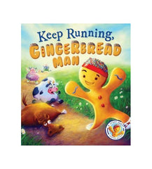 Keep Running Gingerbread Man