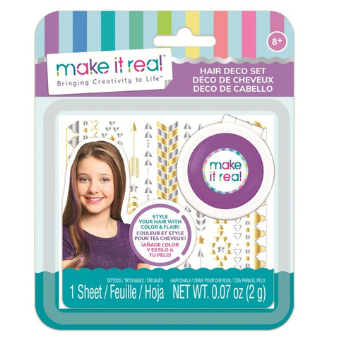 Make it Real Hair Chalk and tattoo set