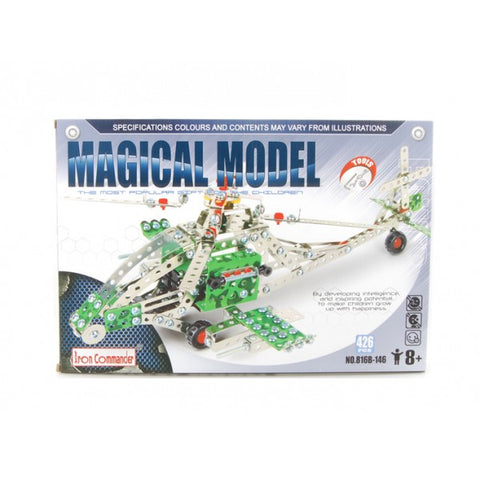 Metal Helicopter Kit - Iron Commander Magical Model