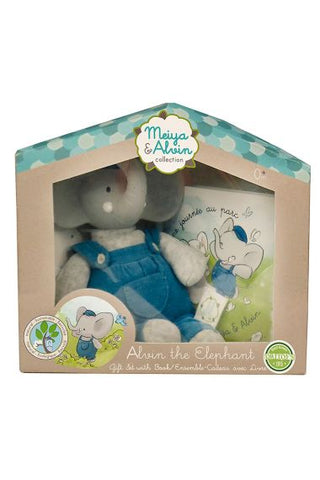Mini Alvin the Elephant Gift Set