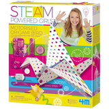 Motorised Origami Bird Steam Powered Girls