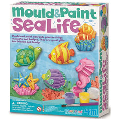 Sea Life Mould and Paint Crafts