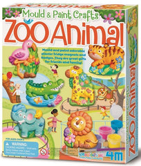 Zoo Animal Mould and Paint Crafts
