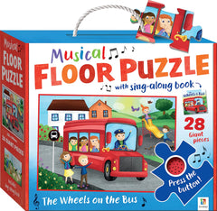 wheels on the bus floor puzzle