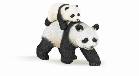 Panda and baby panda - Papo Figurine