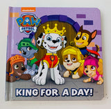 Paw Patrol Book  King for a day