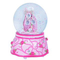 Snow Globe Ballet shoes with music