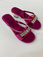 Dark Pink Shoes - F7195 Size 33 34 35 36