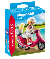Playmobil 9084 Beachgoer with Scooter