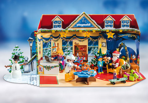 Playmobil Advent Calendar toy shop