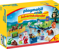 Christmas in the Forest Playmobil Advent Calendar 1.2.3 9391