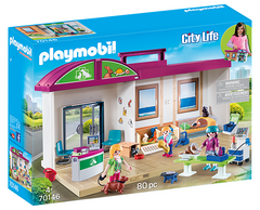 Playmobil City Life Vet Clinic 70146