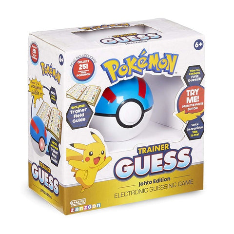 Pokemon Trainer Guess game