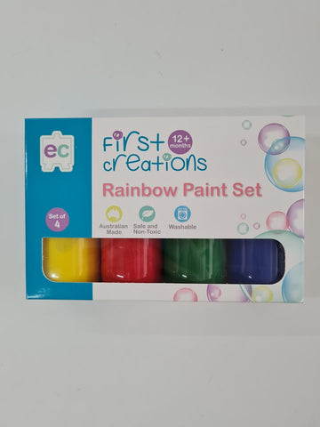 Rainbow Paint Set First Creations