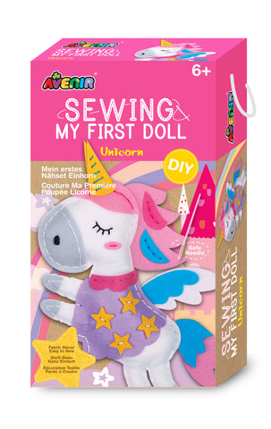 Sewing My First Doll Unicorn