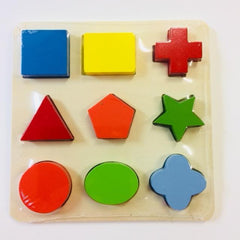 shape puzzle wooden