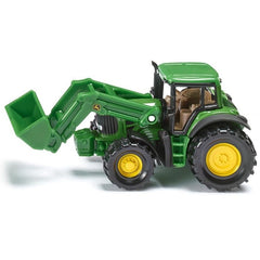 John Deere 7530 with Frontloader 1341
