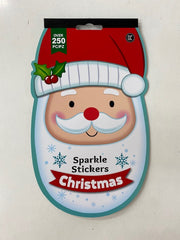 Sparkle Stickers Christmas