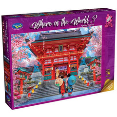 Spring Sakura Where in the World 1000 Piece Puzzle