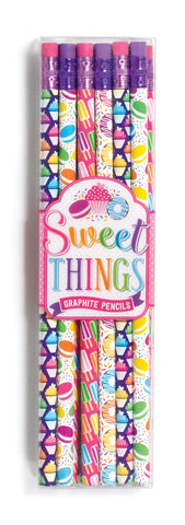Sweet Things Graphite Pencils - Set of 12