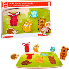 Forest Animal Tactile Puzzle Hape