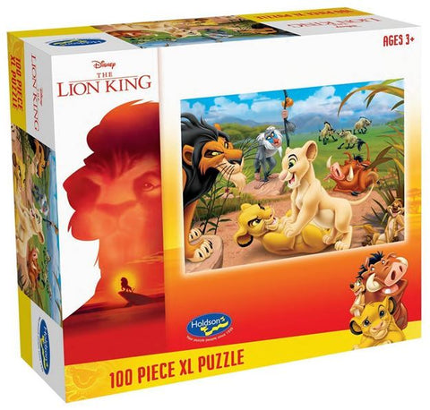 The Lion King Simba's Pride 100 Piece Puzzle XL