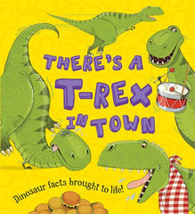 There's a T-Rex in Town Book