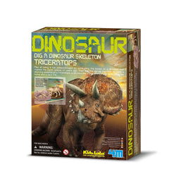 kidz-stuff-online - Triceratops Dinosaur Skeleton Excavation Dig Kit