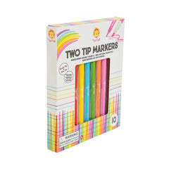 kidz-stuff-online - Tiger Tribe Two Tip Felt Markers
