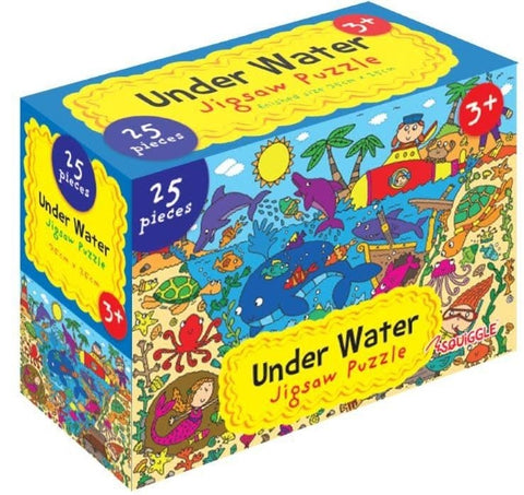 Under Water Jigsaw Puzzle 25 Pieces