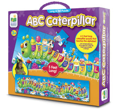abc caterpillar floor puzzle