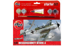 Airfix Small Starter Set - Messerschmitt Bf109E-3