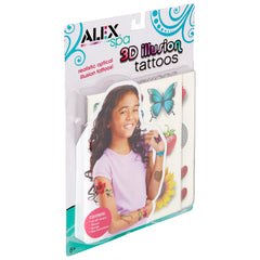 kidz-stuff-online - ALEX 3D Illusion Tattoos