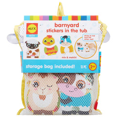 kidz-stuff-online - ALEX Bath Barnyard Stickers in the Tub