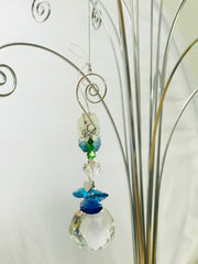 kidz-stuff-online - Angel blue crystal Suncatcher