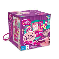 angelina ballerina cube game