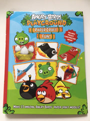 Angry Birds Playground Paper Craft Fun!