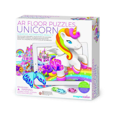 AR Floor Puzzle Unicorn