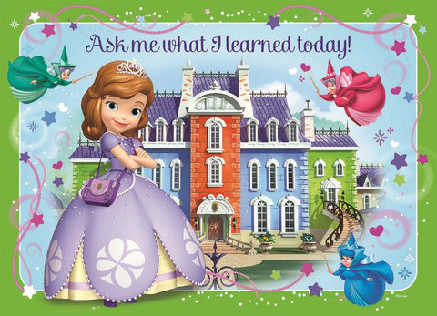 Sofia the First Ask Me What I Learned Today!