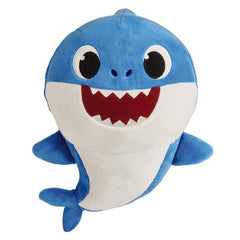 Baby Shark Sound Plush Blue