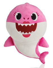 Baby Shark Sound Plush Pink