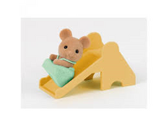 Sylvanian Families Baby Mouse with Slide