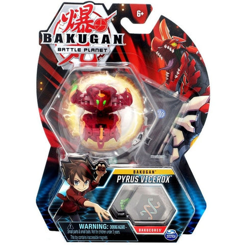 Bakugan Single Figure Pyrus Vicerox